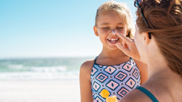 Opt for pump packs or squeeze tubes to ensure you have the recommended amount of sunscreen on your whole body.