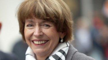 Henriette Reker as a candidate for mayor in 2015.