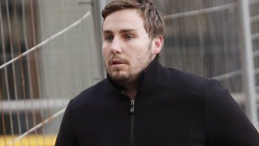 Tapped phone conversations between Adam Cranston and his father have been played in court.