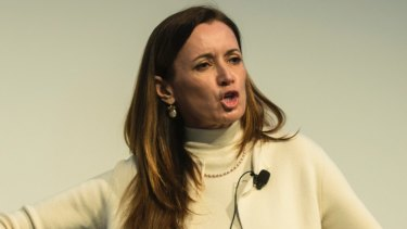 Blythe Masters will be stepping down as Digital Asset's chief executive.