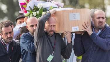 Twenty-six bodies from the Christchurch mosque shooting were buried on Friday, a week after the terror attack.