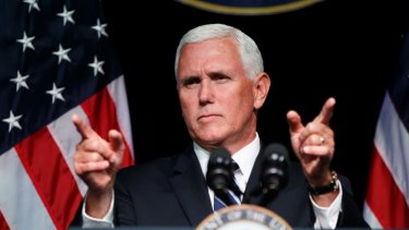 Launching Space Force last year, US Vice-President Mike Pence said the time had come to ensure America's dominance in space amid competition and threats from China and Russia.