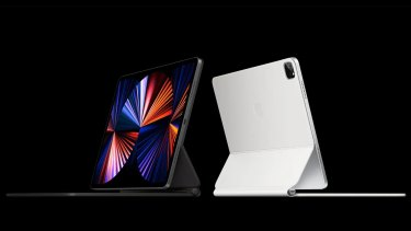 The new 12.9-inch iPad Pro has a HDR display and a wide-angle front camera.