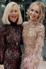 """""""Proud"""" mother Robyn Ralph with her embattled fashion designer daughter Tamara."""
