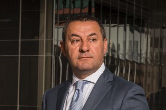 Hostplus CEO David Elia could not confirm or deny merger discussions with Maritime Super.