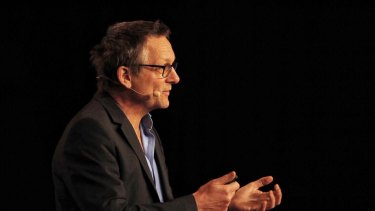 Dr Michael Mosley speaks at Happiness and Its Causes.