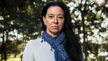 Michelle Portlock, 49, is battling a flare-up of depression during the pandemic crisis.