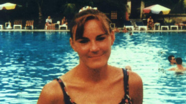 Jamie-Lee Page's sister Carol (pictured) was murdered by her step-father in 1997.