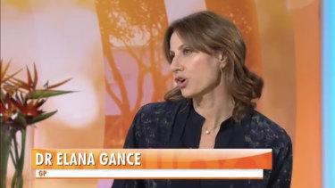TV Doctor and Chemist Warehouse heir, Dr Elana Gance.