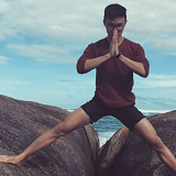 Heng Yi Goh was holidaying with some friends in the South West when was swept off rocks by a wave.