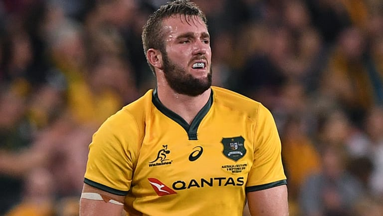 Two more years: Wallaby Izack Rodda is staying with the national team, and the Queensland Reds.