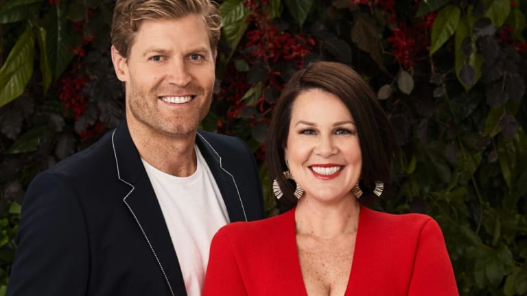 Chris Brown and Julia Morris will host two shows on Ten next year: I'm a Celebrity and Sunday Night Takeaway.