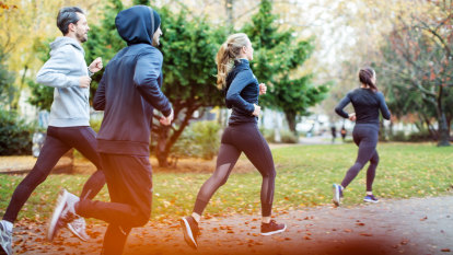 I used to look admiringly at runners in parks, but now they scare me