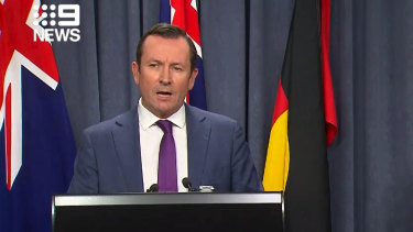 WA Premier Mark McGowan calls border threat 'ridiculous'.