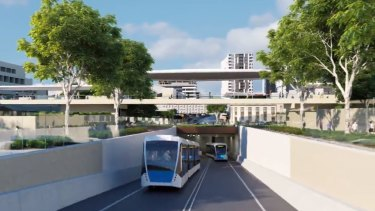 The $944 million Brisbane Metro project is expected to be operating by 2023.