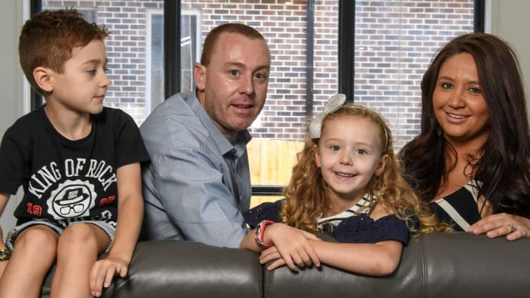 The Forster family - Peter, Danielle, Cooper, Rachel and Hudson - have top-level private health insurance and recently switched to a better value fund.