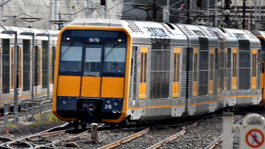 The upgrade to the Tangara fleet is not expected to be completed until late 2021.