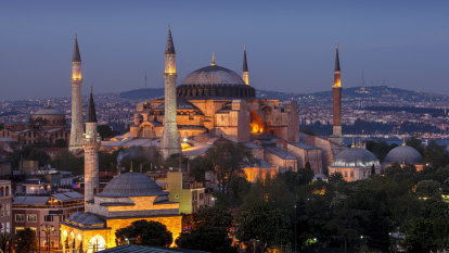 Condemnation from abroad as Erdogan converts Hagia Sophia into mosque
