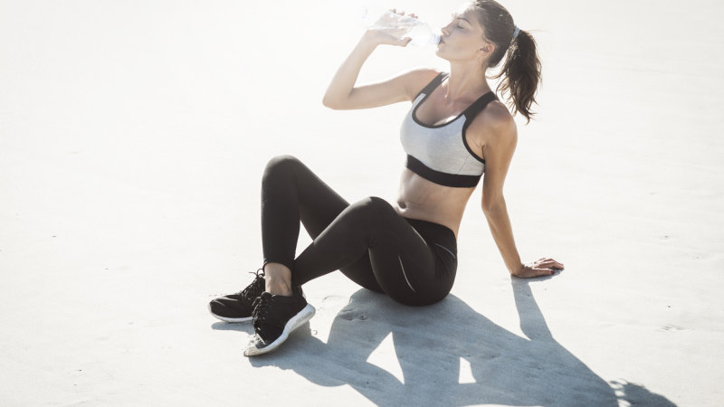 A post-workout wine may taste delightful ... but is not a great idea