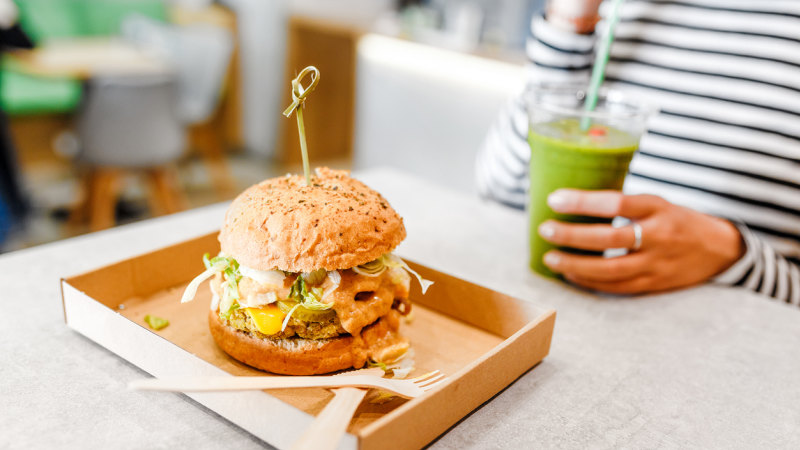 'Typically you feel better after a plant-based burger than a meaty one'