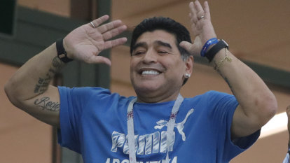 Maradona's antics put his FIFA role at risk