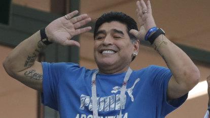 Maradona's antics put his FIFA role at risk