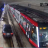 A car turns ontotramtracks and proceeds to drive into the exclusive light rail tunnel at Moore Park, soon passing atramcoming in the other direction, as seen in a video from early June and NSW Transport Minister Andrew Constance.