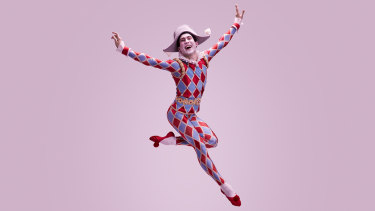 The Australian Ballet's Harlequinade will feature bright costumes and fresh comedic dancing.