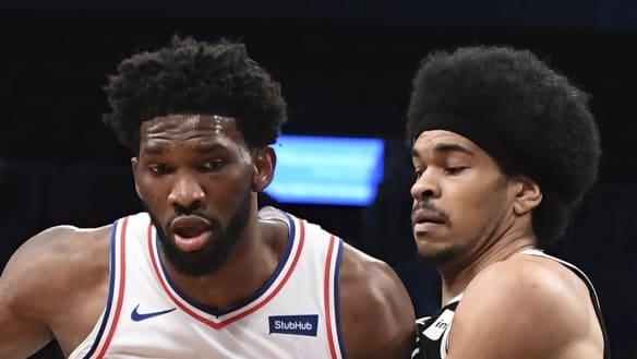 Philadelphia trounced by Brooklyn in NBA