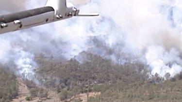'A marathon, not a sprint': Fire danger flares again for south-east Queensland