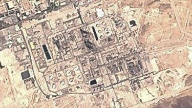 Saudi Aramco's Abqaiq oil processing facility in Buqyaq, Saudi Arabia after the attack.