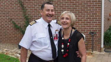 Ross Kelly and his wife Lyndal were both on the plane that crashed.