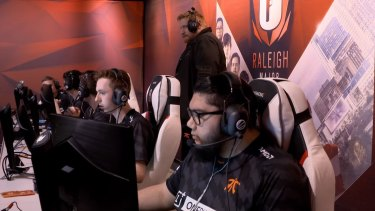 Australia's Fnatic competes at Raleigh.