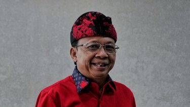 Bali Governor Wayan Koster