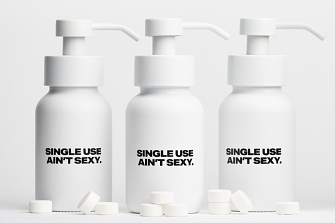 A witty brand that addresses a very serious global issue.