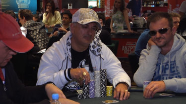 The chips are down for professional poker player Bill Jordanou.