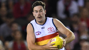 Mitch McGovern wants a move to Carlton, but the Crows won't be giving him up unless the Blues can deliver in the trade.