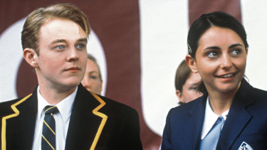 Mathew Newton and Pia Miranda in Looking for Alibrandi