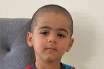 "Found: Three-year-old Anthony ""AJ"" Elfalak."