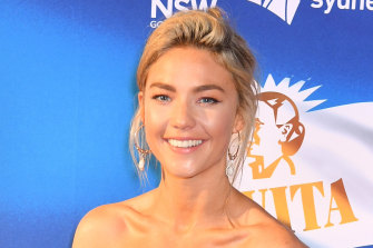 Sam Frost posted but then removed a controversial video on the weekend.