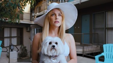 The disappearance of Sam's neighbour Sarah (Riley Keough) sparks his trip through LA.