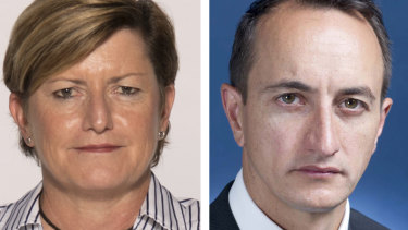 Players in the battle for Wentworth: City of Sydney councillor Christine Forster and former Israel ambassador Dave Sharma.