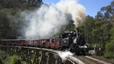 Generations of children have enjoyed their Puffing Billy experience.