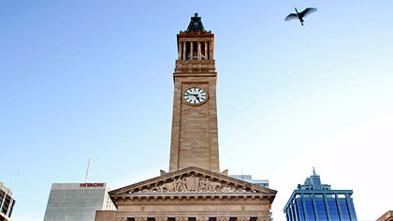When the bells chime at Brisbane City Hall has sparked debate between councillors.