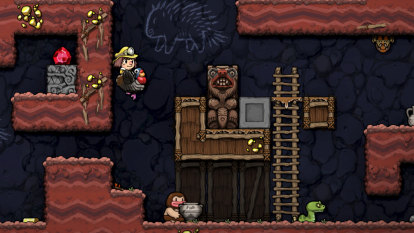 An influential indie gem returns, better than ever, in Spelunky 2
