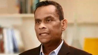 Final days: Former Nauru president Sprent Dabwido on The Project.
