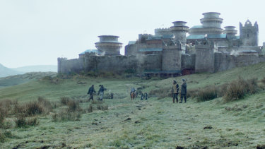 Winterfell: a muddy location in Northern Island.