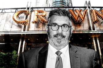 Andrew Demetriou had a rough couple of days giving evidence at the NSW Inquiry into Crown Resorts.