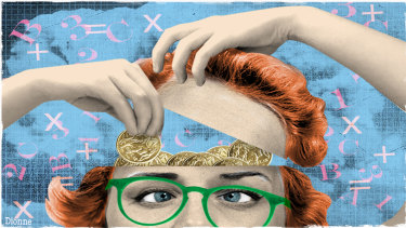 Smart money: The most powerful way for most people to boost their income is through a simple dedication to maintaining and improving their skills. Illustration: Dionne Gain