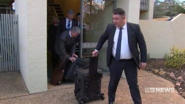 Australian Federal Police raided the home of journalist Annika Smethurst in 2019.